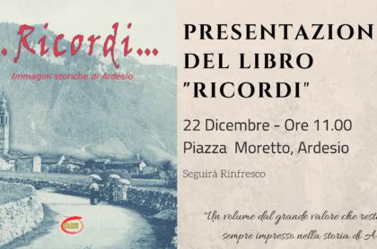 _Un volume dal grande valore che resterà per sempre impresso nella storia di Ardesio._22 Dicembre - Ore 11.00Piazza Moretto, Ardesio