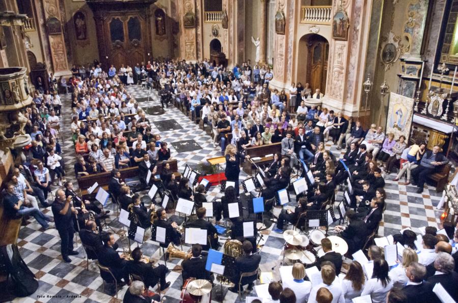 Corale San Giorgio,coro della Presolana, gruppo bandistico Ardesio